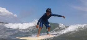 El surf de fiesta