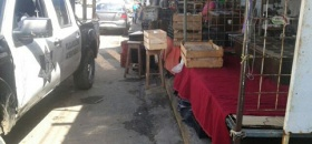 Vendedor es quitado de la calle