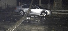 Autoridades evalúan daños por tormenta