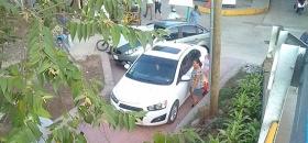 Se estacionan en andador