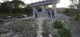 "Supervisa Alcaldesa Puente ""El Salto"""