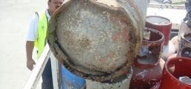 Peligrosos cilindros