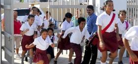 Extreman medidas en escuelas